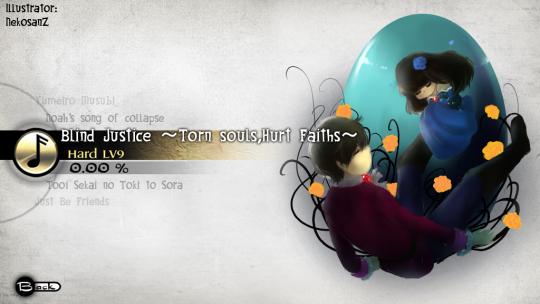 NekosanZ - Blind Justice ~Torn souls,Hurt Faiths~_text