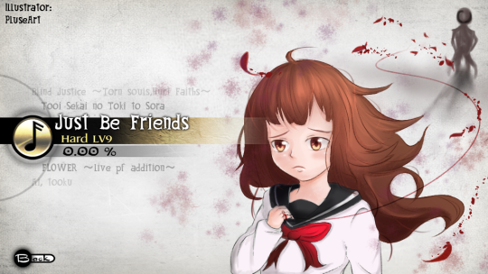 PluseArt - Just Be Friends_text